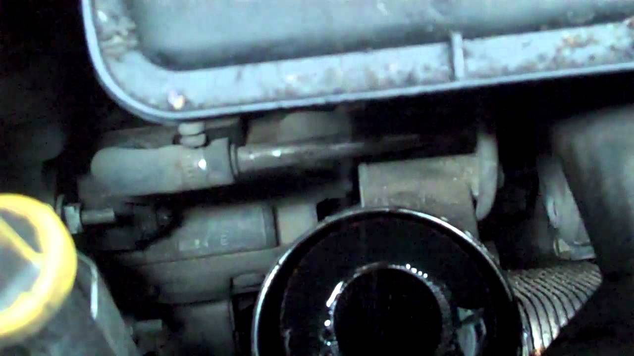 how to change the oil in a diesel rv