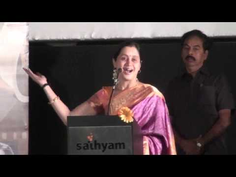Actress Devayani at Indian Cinema Centenary Celebration
