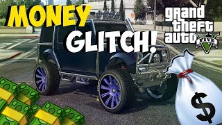 "GTA 5 Glitches: NEW *SOLO* ""MONEY GLITCH"" AFTER PATCH 1.15"