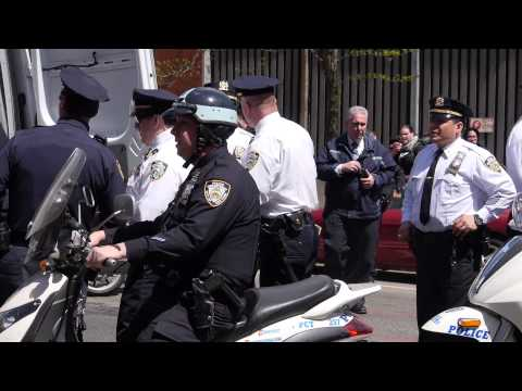 Six Arrests During Anti-Capitalist March, May Day 2013 in NYC