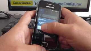 Como Exportar Contactos A La Micro SD Samsung Galaxy Ace