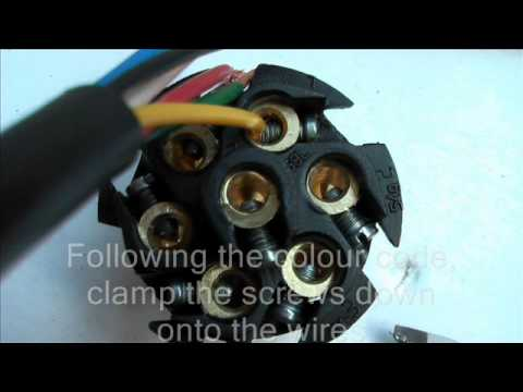 hqdefault  Wire Trailer Connector Wiring Diagram on 5 pin xlr, 4l60e, 4 wire flat trailer, 7 pin female, toyota obd2, rv trader, 4l65e transmission,