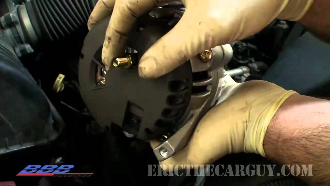 2006 chevy trailblazer wiring diagram how to change  remove  amp  replace  an alternator youtube  how to change  remove  amp  replace  an alternator youtube
