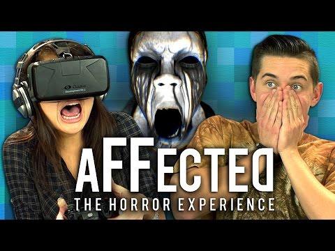 OCULUS RIFT - AFFECTED: THE MANOR (Teens React: Gaming)