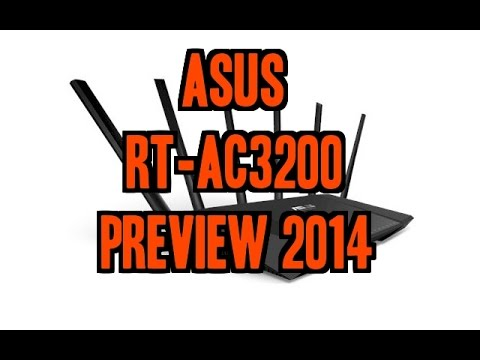 Antenna Router Asus Asus Rt-ac3200 Router Preview