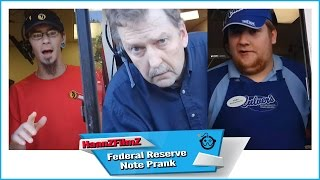 [Federal Reserve Note - Public Money Prank - HaanZFilmZ] Video
