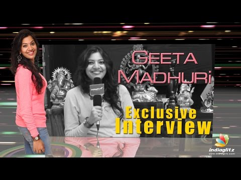 He is First From The Industry To Bless Us : Geetha Madhuri l Nandu