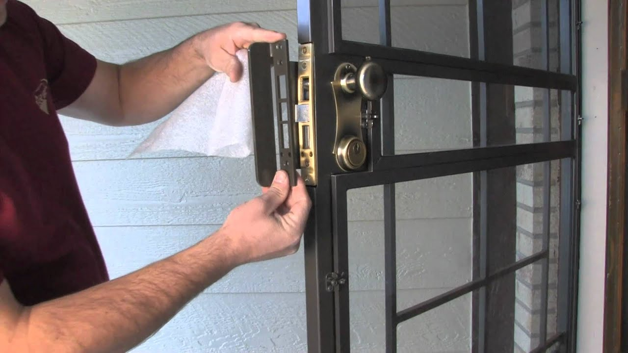 Lock Guard Armor Security Door Enhancement By