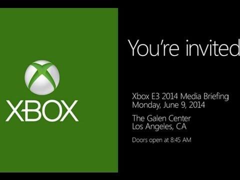 E3 2014 Microsoft Press Conference Live Stream and Reactions!