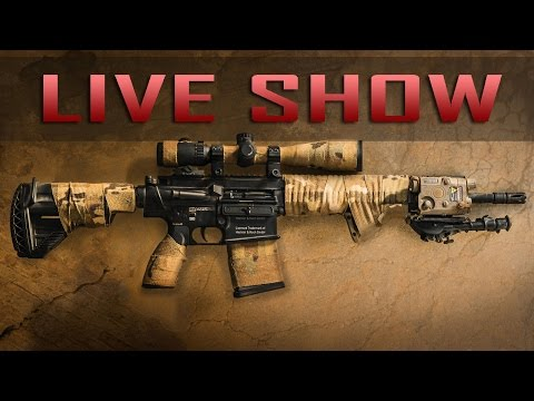 Favorite Airsoft Fields, Krytac LMG, Bob's Training Camp, and More! - LIVE SHOW! - Airsoft GI