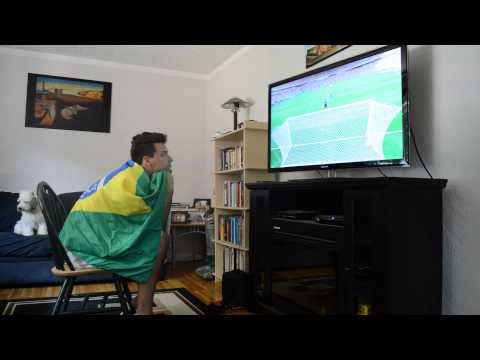 Brazil vs. Chile penalty shoot out reaction