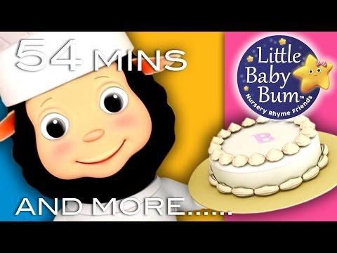 Pat A Cake | Plus Lots More! | Nursery Rhymes | From LittleBabyBum