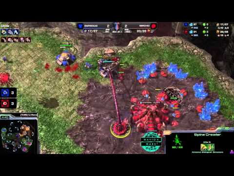 Ukraine vs. Poland - Game 5 - Nation Wars - StarCraft 2