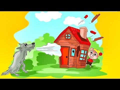 Los Tres Cerditos y El Lobo - Cuento Infantil - Para niños - #