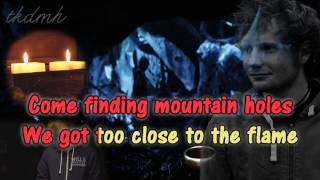 Ed Sheeran I See Fire Karaoke/Instrumental