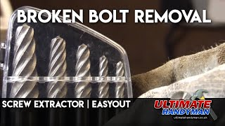 How to use a screw extractor/easyout