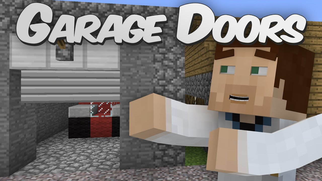 Garage Shutter Doors In Minecraft Shutter Mod Showcase