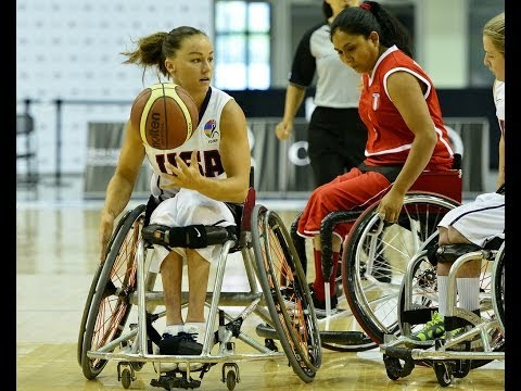 USA v Peru | 2014 IWBF Women's World Wheelchair Basketball Championships
