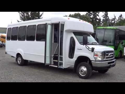 Northwest Bus Sales - 2009 Ford Goshen 4WD 25 Passenger Shuttle Bus For Sale - S17429