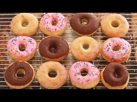 No-Knead Donuts (Baked Not Fried) - Gemma's Bigger Bolder Baking Ep 88