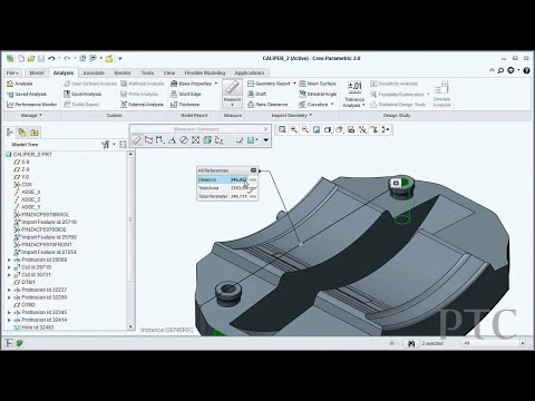 Creo 2.0: Streamlined Measuring for Creo Parametric - PTC