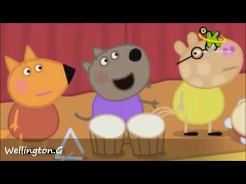 Peppa pig - Cantando Funk videos engraçado 2015