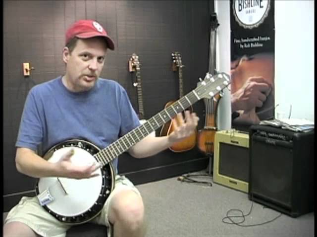 Bishline six string banjo