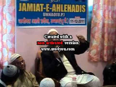 JAMIAT AHLEHADIS UNNAO IJTIMA 11 DECEMBER2011 PART 09