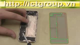 Video Hướng Dẫn Tháo Lắp IPhone 4 Thay Màn Hình