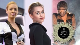 MTV Video Music Awards 2014- Beyonce, Iggy Azalea & Eminem