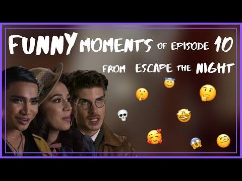 Funny Moments of Escape The Night (Season 4, Episode 10)