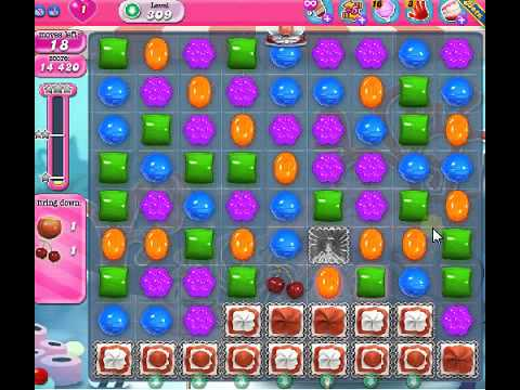 how to beat candy crush saga level 309 1 stars no boosters 89 candy