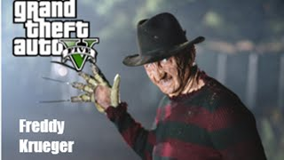 GTA 5 Online: How To Look Like Freddy Krueger!