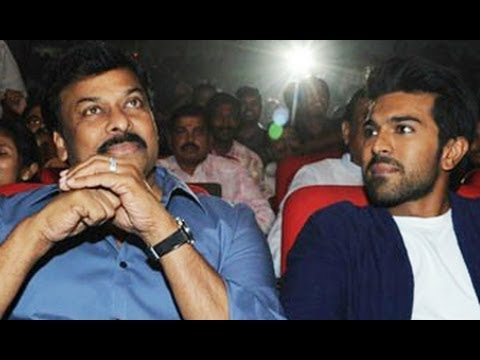 Chiranjeevi | Ram Charan | at | Yevadu | Audio Launch | Photos