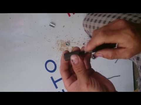 Chế súng hơi pcp p8 - Cách giữ viên đạn không rơi khỏi nòng súng