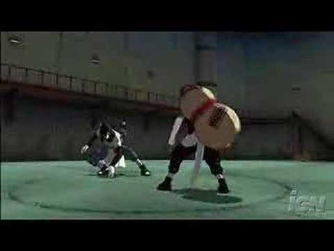 Naruto rise of a ninja gaara vs orochimaru youtube for Cuarto kazekage vs orochimaru
