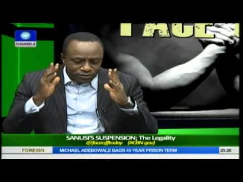 Face Off: Legal Practitioners Debate Legality of Sanusi's Suspension Pt.1