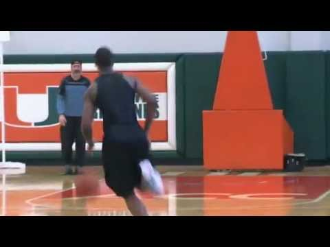 Harrison Barnes  workout - NBA Draft 2012