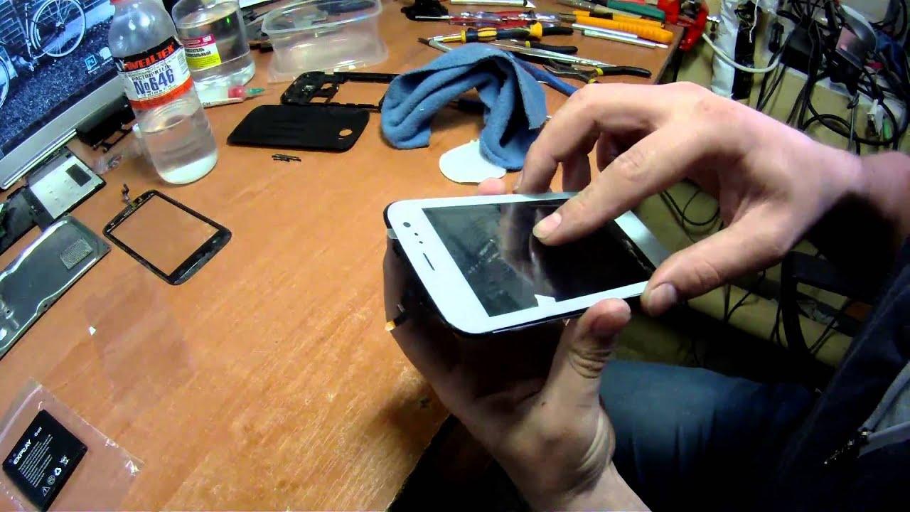 Замена дисплея планшета своими руками 64