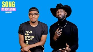 SAMOHT sings Beyoncé, Kirk Franklin, and Tasha Cobbs | Song Association