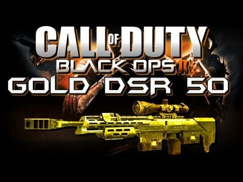 GOLD DSR 50 - Ze German Powerhouse!! (BO2 Weapons Advice and Tips)