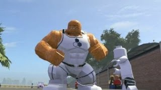 LEGO Marvel Super Heroes All Future Foundation Costumes