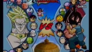 Dragon Ball Z: Infinite World All Characters