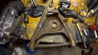 How To Control Arm Bushing Removal At Home (without A