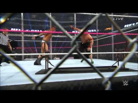John Cena vs Randy Orton -  Hell In A Cell Match -  Highlights [HD]