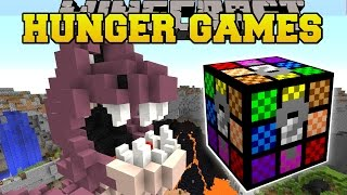 Minecraft: MINIONS CRAZY HUNGER GAMES - Lucky Block Mod - Modded Mini-Game