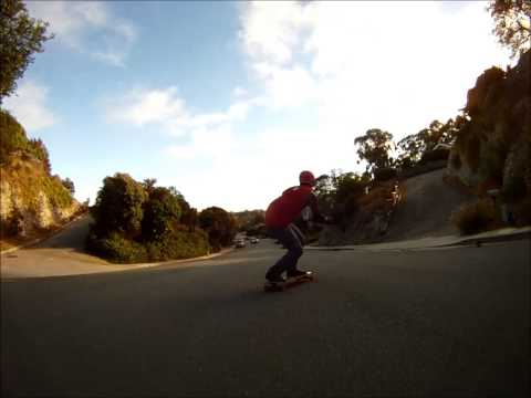 Lucas Cantal Freeride In Santa Cruz