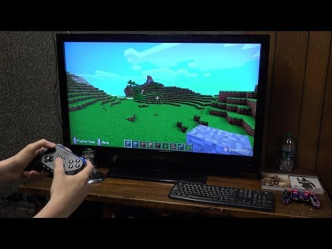 Amazon Fire TV and Game Controller Setup (Asphalt 8 and Minecraft Gameplay)