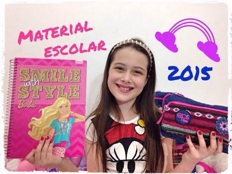 Material Escolar 2015 - volta às aulas #juliasilva