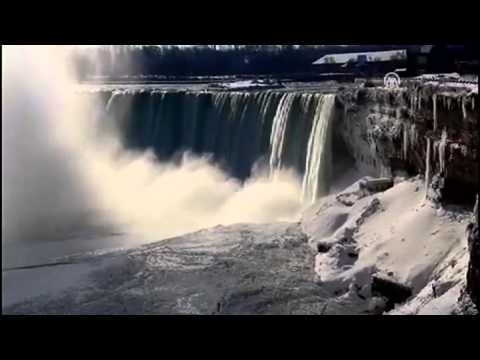Frozen Niagara Falls ! Very Cold Winter in North America (January 2014)